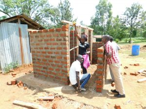 The Water Project:  Field Officer Inspects The Work