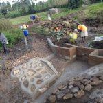 The Water Project: Bungaya Community, Charles Khainga Spring -  Leveling Site
