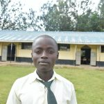 The Water Project: ACK St. Peter's Khabakaya Secondary School -  Student Brian Noah