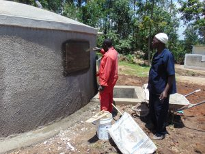 The Water Project:  Inscribing The Rain Tank