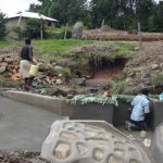 The Water Project: Bungaya Community, Charles Khainga Spring -  Spring Construction