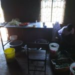 The Water Project: St. Teresa's Isanjiro Girls Secondary School -  Kenya Inside School Kitchen