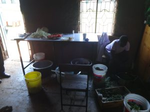 The Water Project:  Kenya Inside School Kitchen