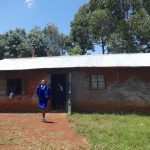 The Water Project: St. Teresa's Isanjiro Girls Secondary School -  Outside School Kitchen