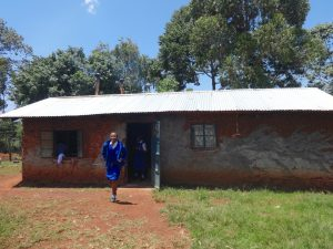 The Water Project:  Outside School Kitchen