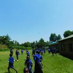 The Water Project: Makale Primary School -  Students At The Playground