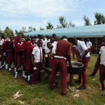 The Water Project: Friends School Ikoli Secondary -  Students Serve Teaa On Their Break