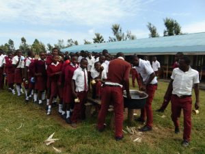 The Water Project:  Students Serve Teaa On Their Break