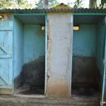 The Water Project: Ebubole UPC Secondary School -  Boys Latrine