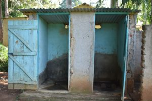 The Water Project:  Boys Latrine
