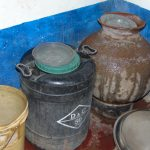 The Water Project: Mutiva Primary School -  Water Storage Containers
