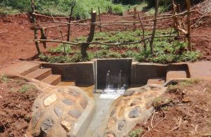 The Water Project:  Completed Shikuku Spring