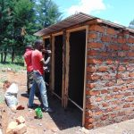 The Water Project: Goibei Primary School -  Latrines Take Shape