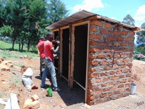 The Water Project:  Latrines Take Shape