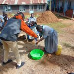 The Water Project: Womulalu Special School -  Handwashing Practice