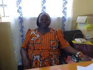 The Water Project:  Principal Madam Mary Luvanda