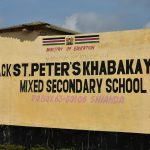 The Water Project: ACK St. Peter's Khabakaya Secondary School -  Sign