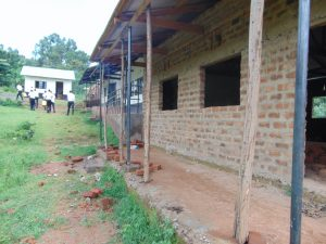 The Water Project:  Classrooms Partially Under Construction