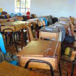 The Water Project: Malinda Secondary School -  Inside A Classroom