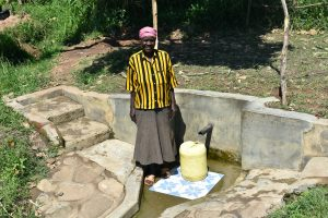 The Water Project:  Mama Indangasi The Spring Landowner