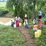 The Water Project: Mungakha Community, Nyanje Spring -  Busy Path From Nyanje Spring