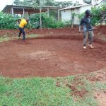 The Water Project: Womulalu Special School -  Leveling The Site