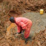 The Water Project: Mushina Community, Shikuku Spring -  Setting The Foundation