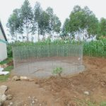 The Water Project: Elufafwa Community School -  Wire Form For Rain Tank Walls