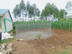 The Water Project:  Wire Form For Rain Tank Walls