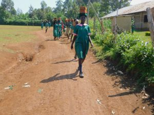 The Water Project:  Students Deliver Bricks