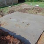 The Water Project: Ematiha Secondary School -  Cement Latrine Foundation