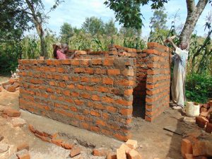 The Water Project:  Latrine Walls Take Shape