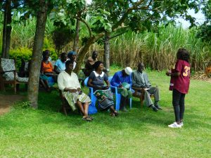 The Water Project:  Training Under Tree Shade