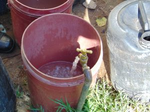 The Water Project:  The Standpipe In Use