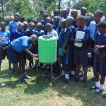 The Water Project: Enyapora Primary School -  Handwashing Practice