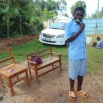 The Water Project: Womulalu Special School -  Student Brushes His Teeth