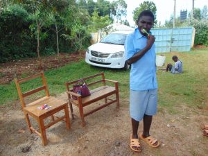 The Water Project:  Student Brushes His Teeth