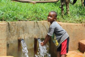 The Water Project:  Water Roars From Shikuku Spring
