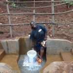 The Water Project: Hirumbi Community, Khalembi Spring -  Happy Day