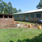 The Water Project: Ematiha Secondary School -  Latrines Take Shape