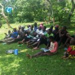 The Water Project: Chegulo Community, Sembeya Spring -  Handwashing Demonstration And Practice