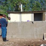 The Water Project: Ematiha Secondary School -  Latrines Nearing Completion