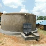 The Water Project: Goibei Primary School -  Completed Rain Tank