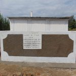 The Water Project: Mukangu Primary School -  Finished Latrine Block