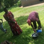 The Water Project: Chegulo Community, Sembeya Spring -  Handwashing Practice