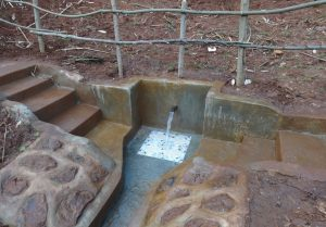 The Water Project:  Completed Khalembi Spring