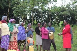 The Water Project:  Betty Leads A Training Session