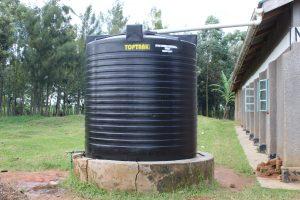 The Water Project:  Plastic Rain Tank