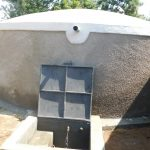 The Water Project: Enyapora Primary School -  Completed Rain Tank