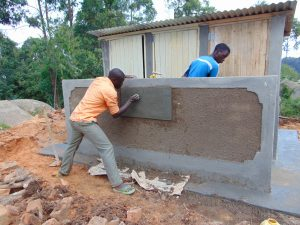 The Water Project:  Inscribing The Latrines
